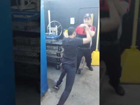 Employee chokes out boss