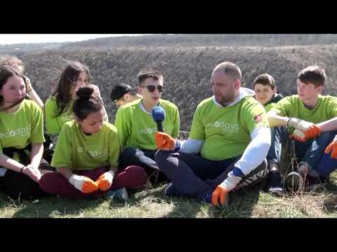 Traseul turistic spre Țipova a fost curățat de deșeuri
