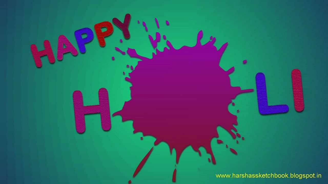 Holi Card Making Ideas Part - 25: Holi Card