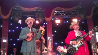 May 11, 2013: Hank Wangford & Brad Breath @ Brighton Festival Spiegeltent (Cotton Mill Colic)