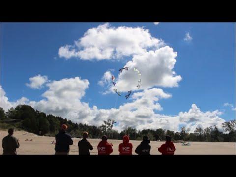 Revolution Kite Team Flying