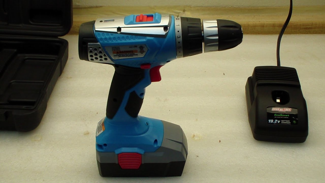 Channellock 19.2V Cordless Drill Driver Review - YouTube