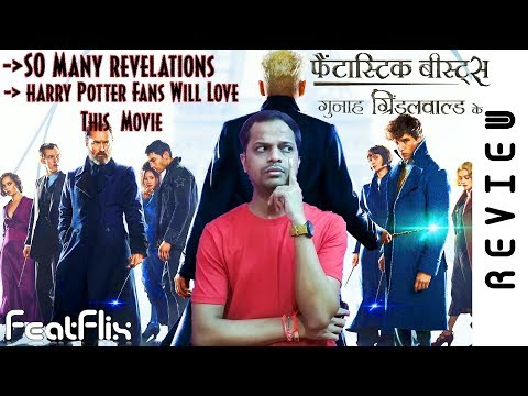 Fantastic Beasts – The Crimes of Grindelwald (2018) Adventure, Family, Fantasy Movie Review In Hindi