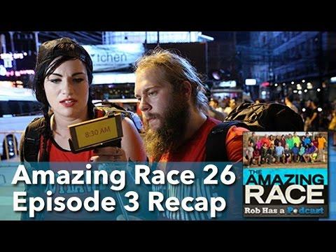 Amazing Race 26 Episode 3 Recap LIVE | March 6, 2015
