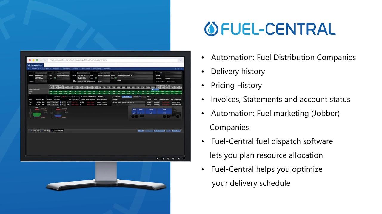 Fuel-Central Fuel Distribution Software - Petrosoft