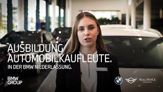 Ausbildung zum Automobilkaufmann (w/m/x) | BMW Group Careers.
