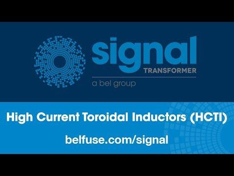 Signal Transformer High Current Toroidal Inductors (HCTI)