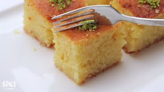 সুইট কেক বাসবুসা | Basbousa Recipe Bangla | Bangla Cake Recipe | Eid Special Recipes