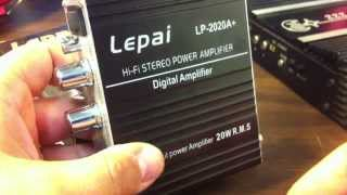 Lepai LP-2020A+ Tripath Class T Mini Amplifier - TA2020 - Amp Bench Test