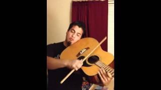 Carlos playing violin