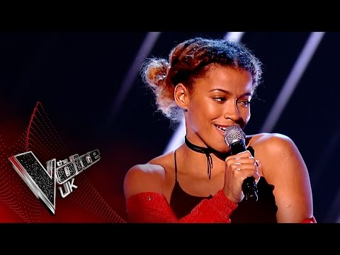 Jazmin Sawyers performs 'Here': Blind Auditions 3 | The Voice UK 2017
