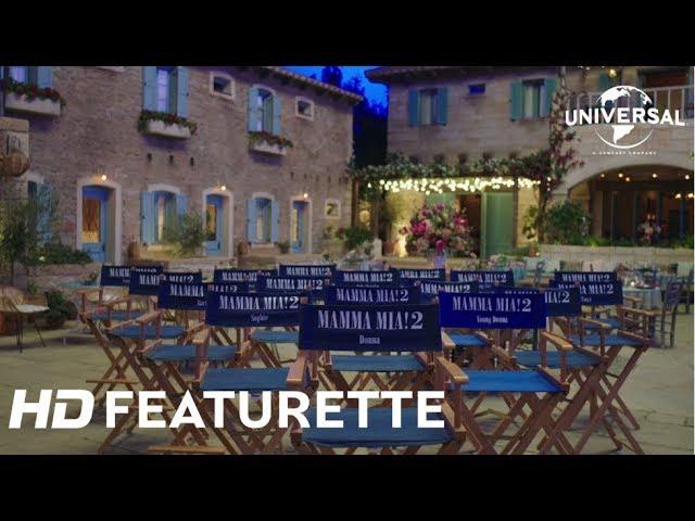 """Mamma Mia : Here We Go Again / Featurette """"Fin de Tournage"""" [Au cinéma le 25 juillet]"""