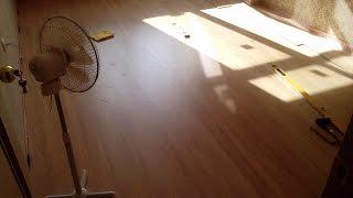 Отделка квартиры - укладка ламината, этап.. предпоследний! // IRL Video-Diary 23(В данном видео показан практически готовый результат укладки ламината в квартире. И в этот день я таки доул..., 2016-07-21T22:50:12.000Z)