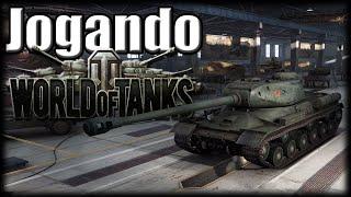 Jogando World of Tanks - Batalhas Online Grátis!