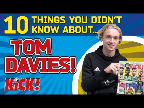 10 Things You Didn't Know About...Tom Davies