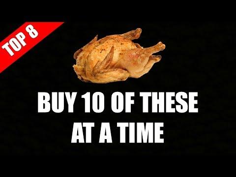 Top 8 Foods To Buy In Bulk | Grocery Tips