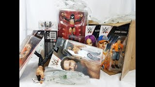 WWE FIGURE GIVEAWAY + NEW ELITES & MUCH MORE! ENTRANCE GREATS FINN BALOR
