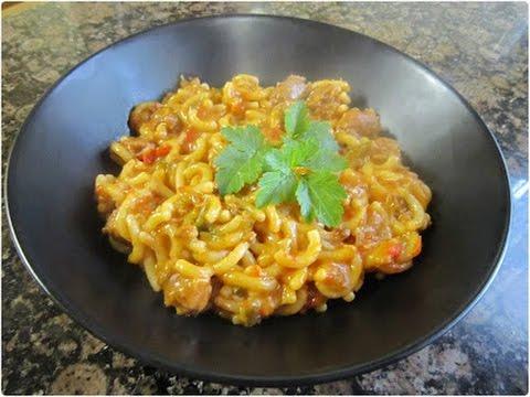 Dieta con pasta y arroz
