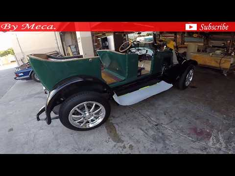 1925  Chevrolet All Black Vinyl Seats