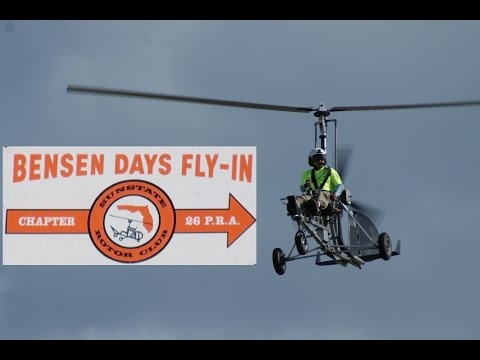 Bensen Days Fly-in Gyroplane Gyrocopter Part 1