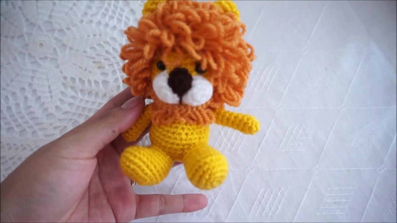 León Amigurumi Tutorial : Amigurumi lion crochet tutorial youtube