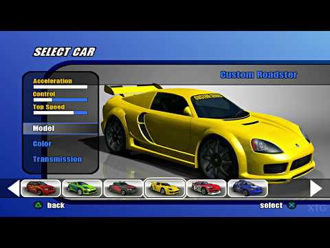 Burnout 2: Point of Impact - All Cars List PS2 Gameplay UHD (PCSX2)