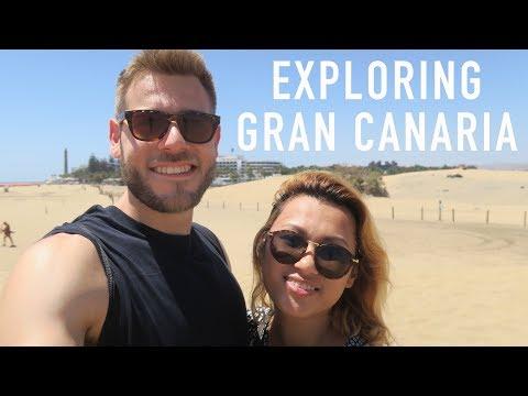 EXPLORING GRAN CANARIA: VEGUETA & MASPALOMAS | TRAVEL VLOG