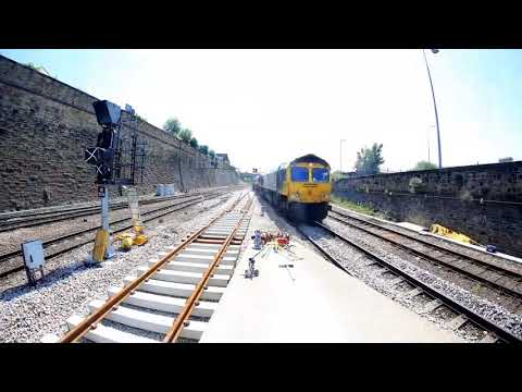 Great North Rail Project in Yorkshire