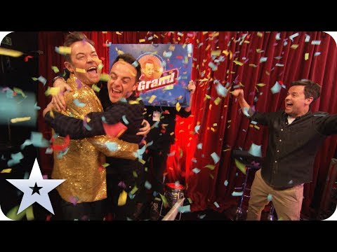 Ant & Dec play In For A Penny!   Britain's Got More Talent