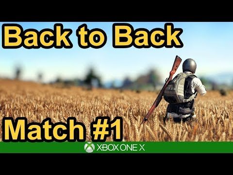 PUBG / 4 WINS IN A ROW / Match #1 / Xbox One X