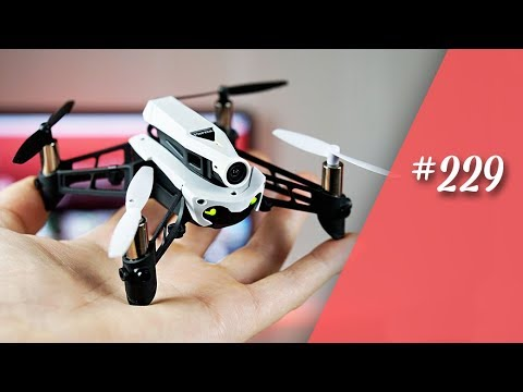 Parrot Mambo FPV ( Part 1 / 2 )  // Minidrone Drohne Test // deutsch// in 4K #229
