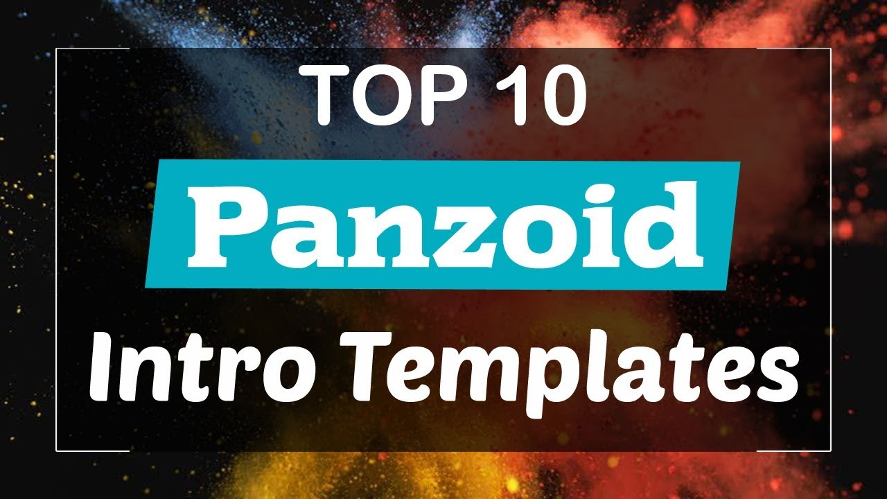 Top 10 Free Intro Templates 2017 Panzoid Download