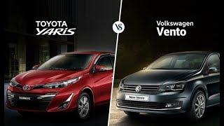 Toyota Yaris vs Volkswagen Vento: Specifications Comparison
