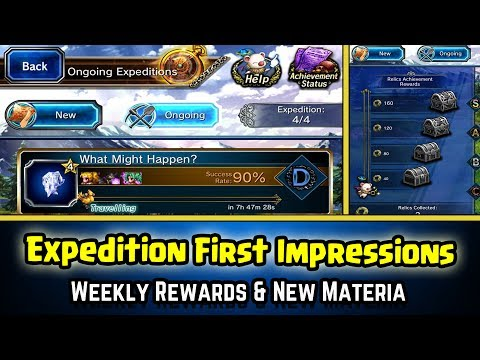 Final Fantasy Brave Exvius - Expeditions First Impressions