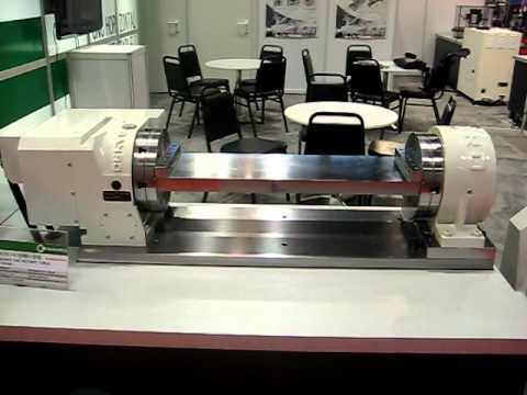 Cnc Rotary Table Ganro Dr 252b With Tssa 250 And Fixture