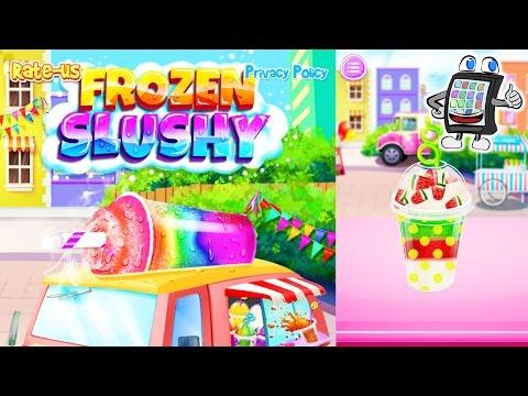 FROZEN SLUSHY App deutsch | BUNTE SHAKES selber machen und dekorieren | Spiel mit mir Games