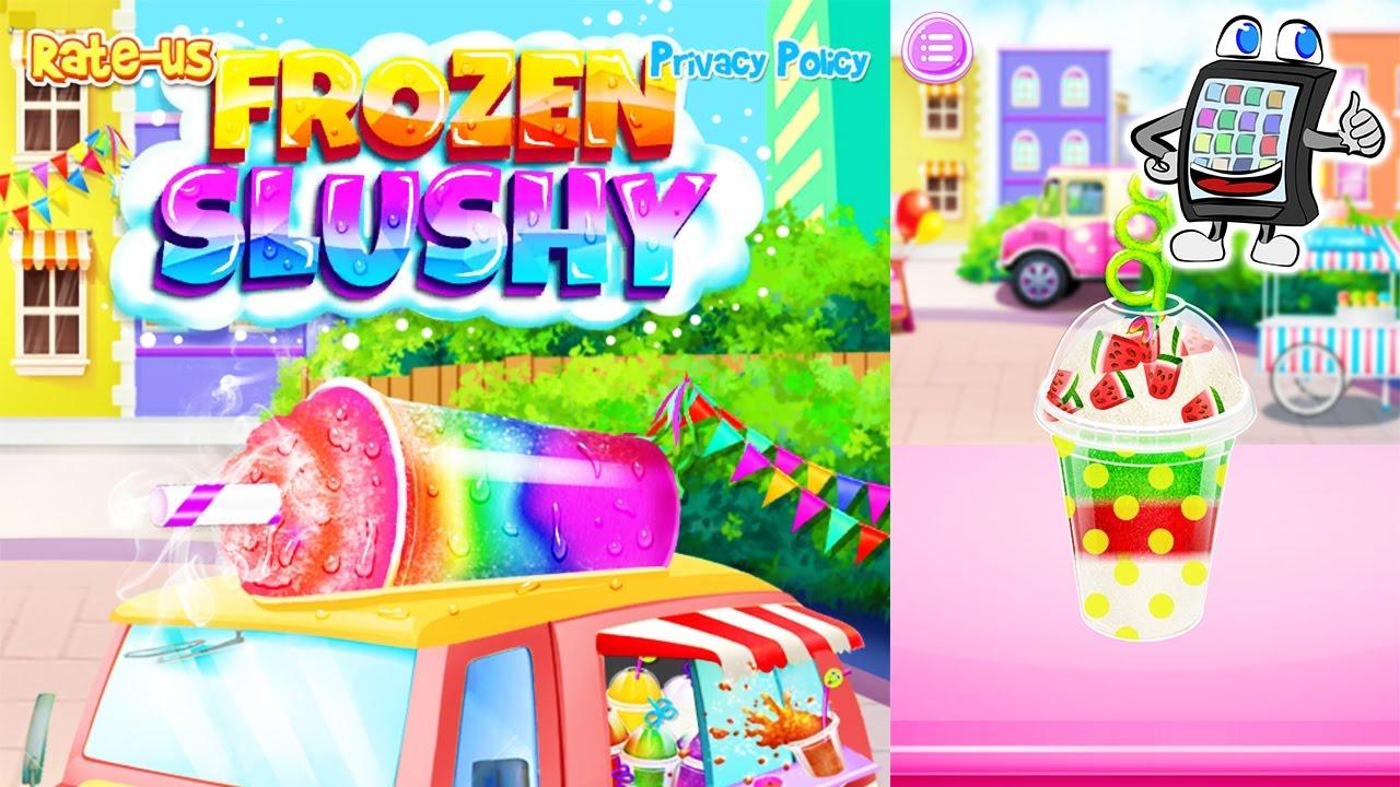 frozen slushy app deutsch bunte shakes selber machen und dekorieren spiel mit mir games. Black Bedroom Furniture Sets. Home Design Ideas