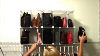 Park-a-purse Modular Organizer