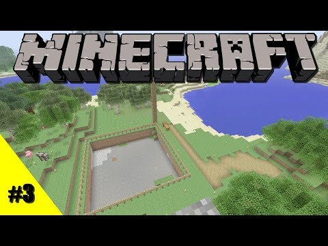Lets Play Minecraft: Xbox One Survival: Episode 3: Quarry & AFK Farms [Xbox One, 360]