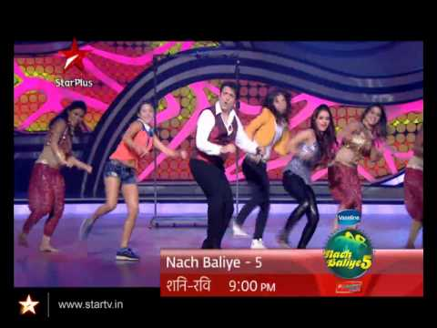 Govinda aala re  aala re on Nach Baliye 5