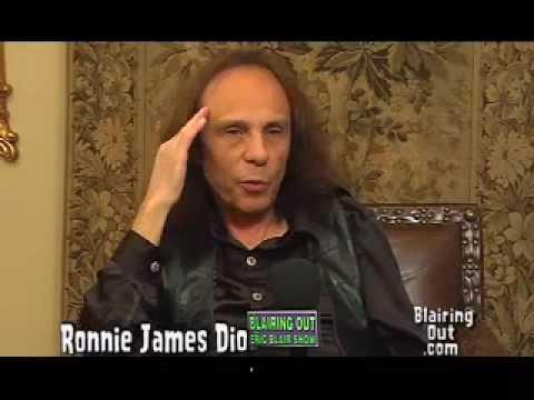 Ronnie James Dio talks to Eric Blair part #6 topics /LiveEvil/ Dio the band & Dehumanizer tour