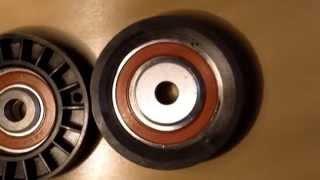 видео натяжной приводной ролик
