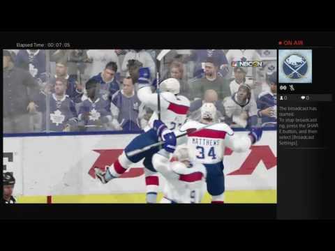 Auston Matthews (Zurich) vs Toronto Maple Leafs (NHL 16)