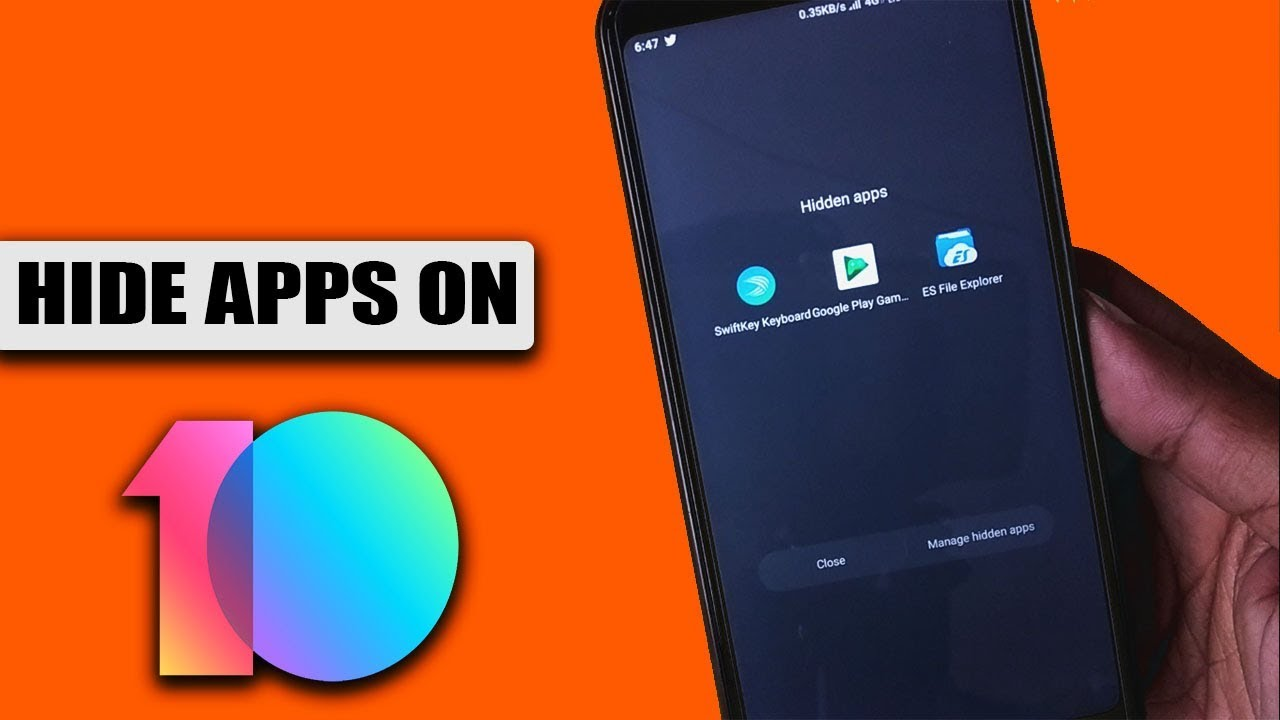 How to Hide Apps in Xiaomi MIUI 10 Without Root and Any