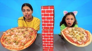 Twin Telepathy Pizza Challenge!