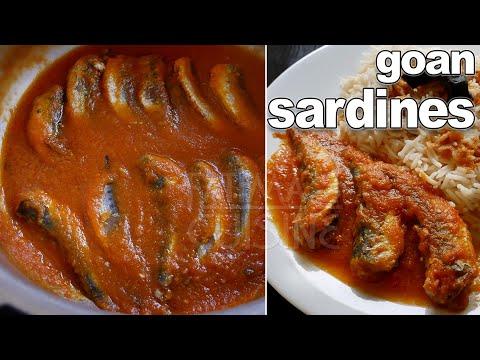 Goan Sardines Recipe | Goan Fish Recipe | Authentic Goan Recipes