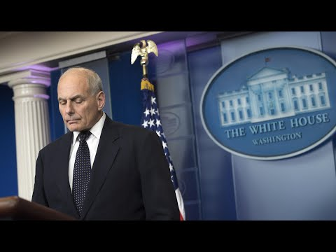 John Kelly rebukes Trump critics over military deaths