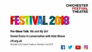 Daniel Evans (Director) in conversation with Kate Mosse about his p...