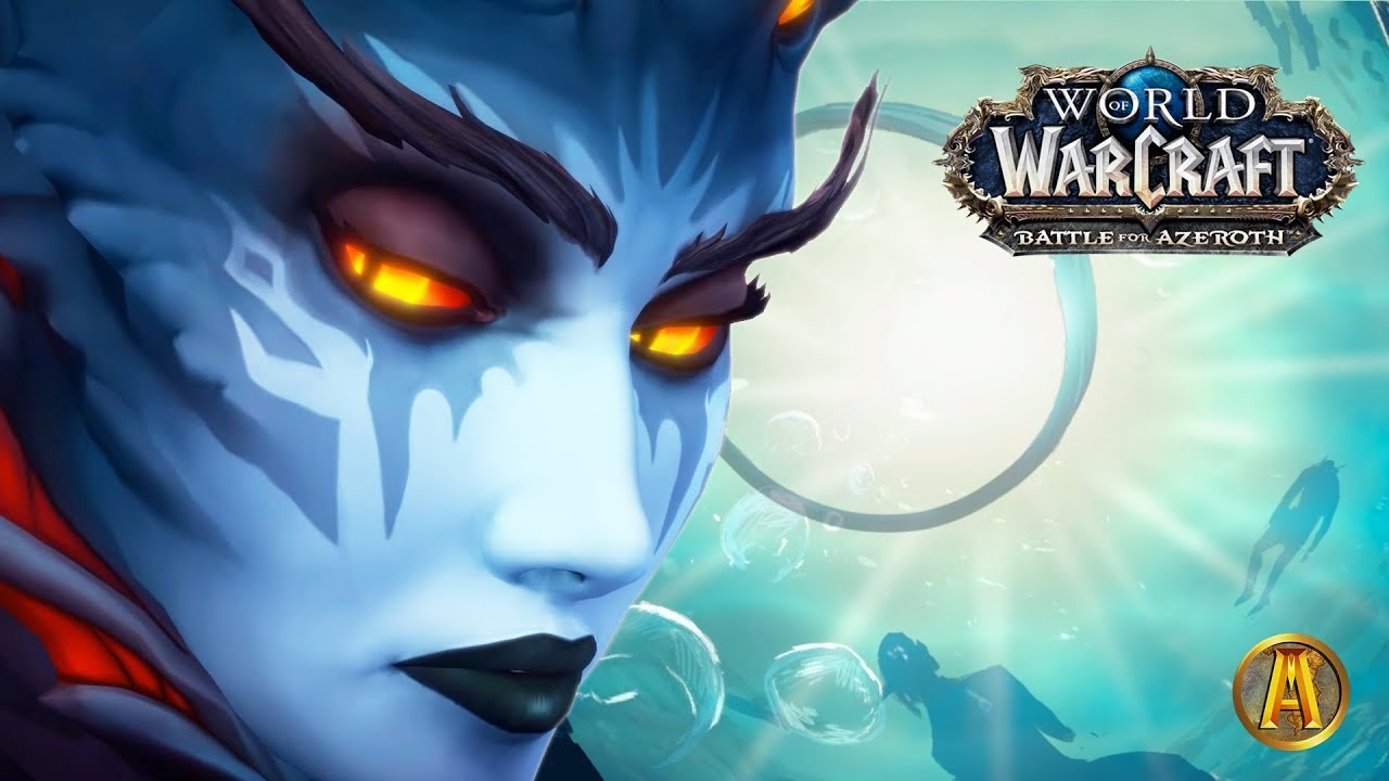 Battle for Nazjatar - All Azshara Cutscenes [8 2 WoW BFA: Rise of Azshara]