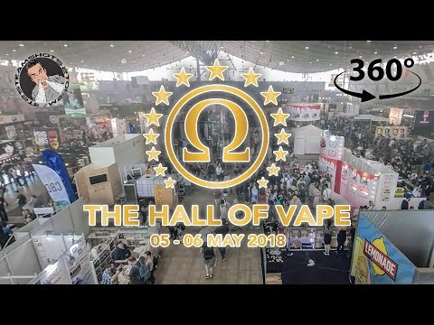 """Meine """"The Hall of Vape"""" 2018 in 360°"""
